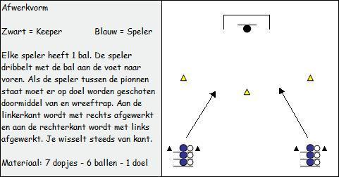 training voetbal f pupillen